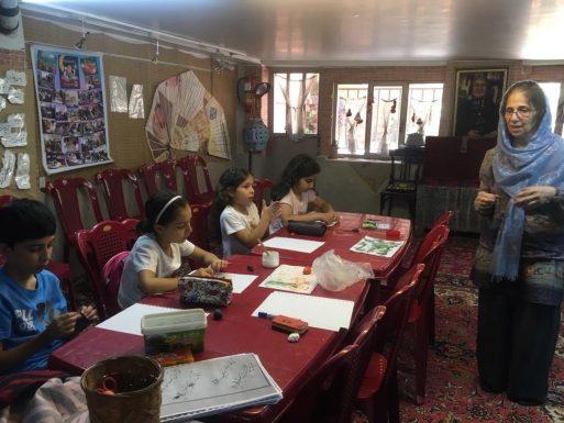 كارگاه هنر كودكان با خانم اقليدس-١٢مرداد